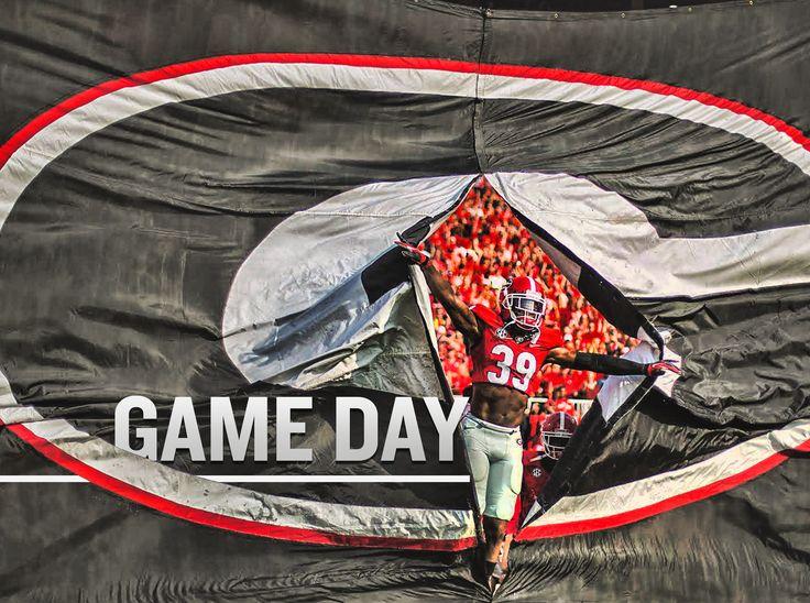 Georgia Bulldogs Game Day 24x18 Football Poster