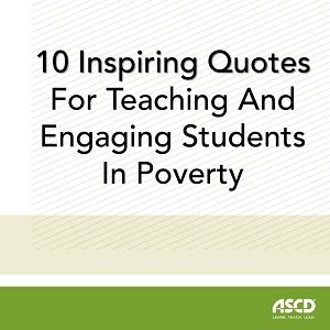 In his book Teaching with Poverty in Mind: What Being Poor Does to Kids' Brains and What Schools Can Do About It , seasoned educator and brain-based learning expert Eric Jensen explains that poor children can experience emotional, social, and academic success if they are offered a rich, balanced learning environment. He takes this idea further in his book Engaging Students with Poverty in Mind: Practical Strategies for Raising Achievement , where he argues that a positive, high-energy…