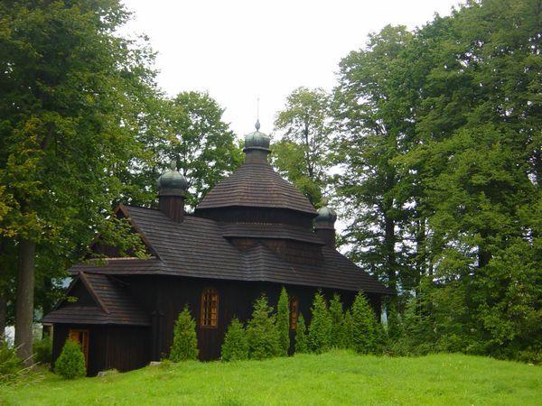 Kroscienko Orthodox Church 2005 - Krościenko (województwo podkarpackie) –