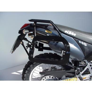SW-MOTECH luggage toprack (KTM LC4 Adventure 640, LC4 enduros, and Duke I)