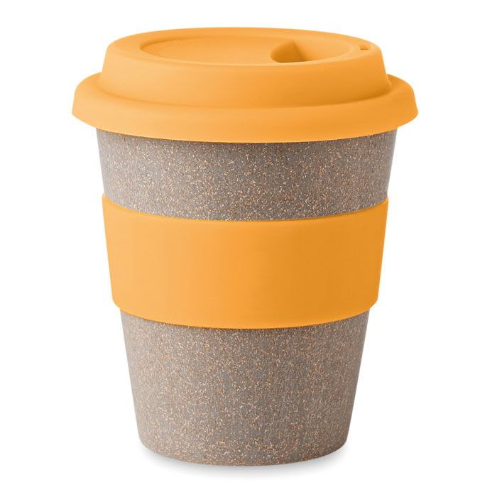 New Design Custom Silicone Coffee Cup With Sleeve Reusable