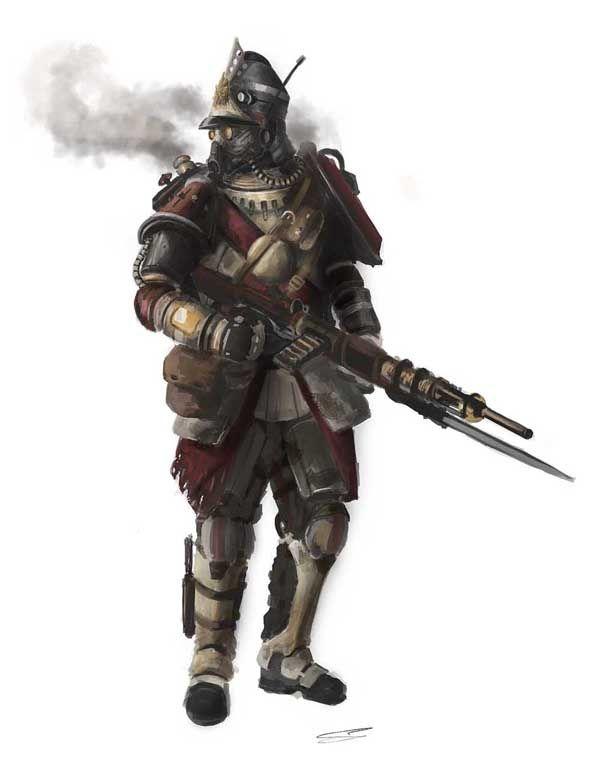Steampunk Rifleman by TheRollingMan.deviantart.com on ...
