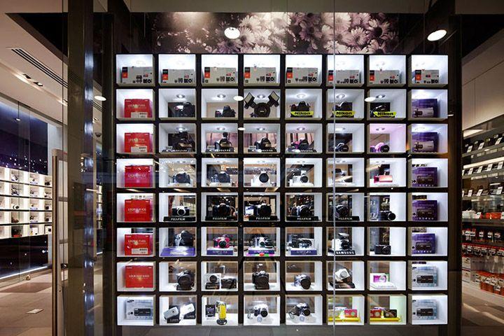 Big Camera store by Whitespace, Bangkok