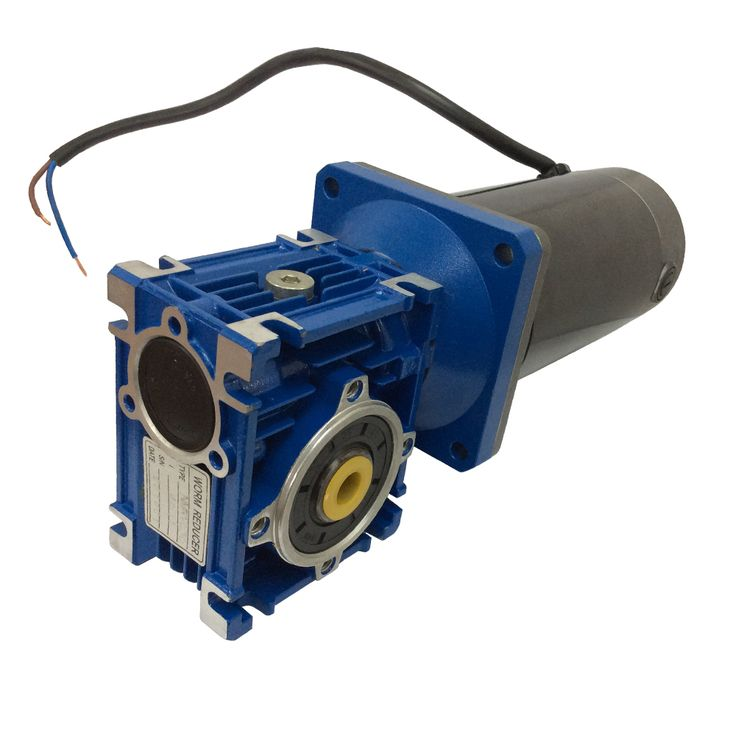 12VDC Worm Boxing Geared Motor 100W Power Electric motors with Gear Boxes Gear Head Large Torque