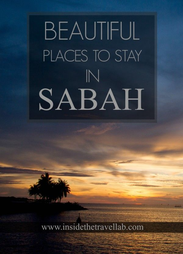 Walking Off Into the Sunset: Beautiful Places in Sabah, Malaysia via @insidetravellab