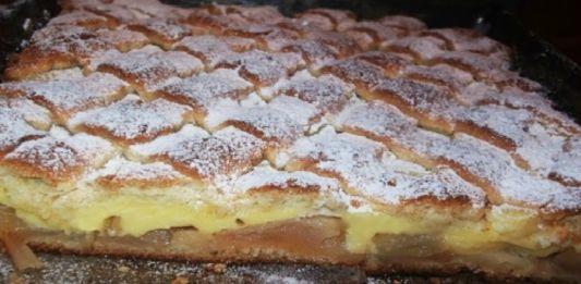 Luxusní krémový jablečný koláč: Připraveno máte za 30 minut!