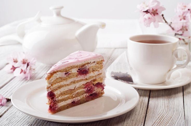 Photo about Pink cake. still life in white key. Image of life, decoration, basque - 71669366