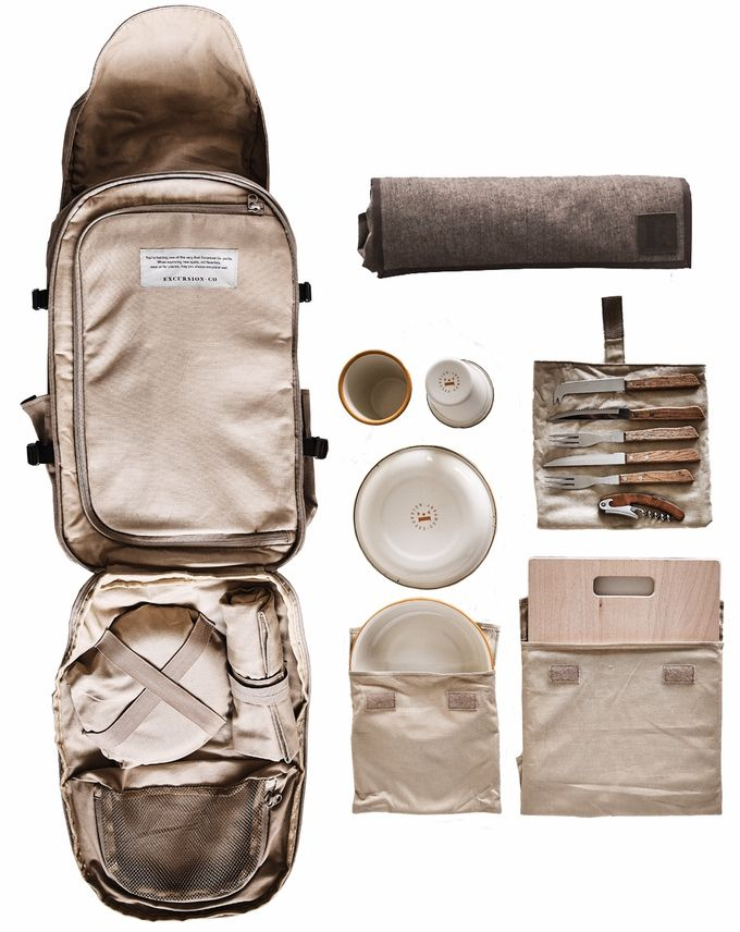 Excursion Co. | The Ultimate Picnic Backpack by Ben Juzwin — Kickstarter