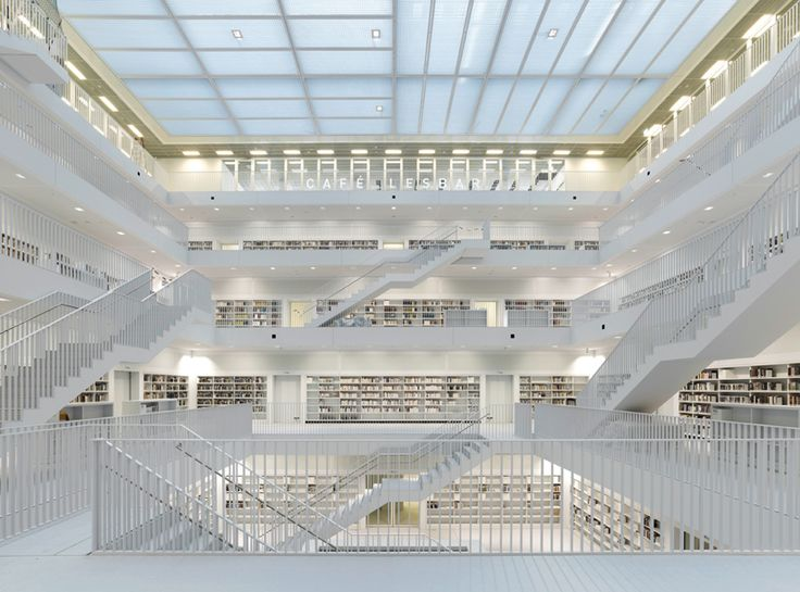 new stuttgart library, germany. yi architects.