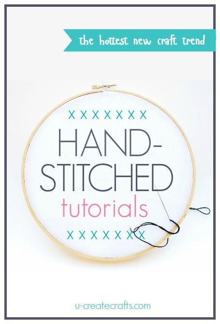 Adorable Hand-Stitched Craft Tutorials