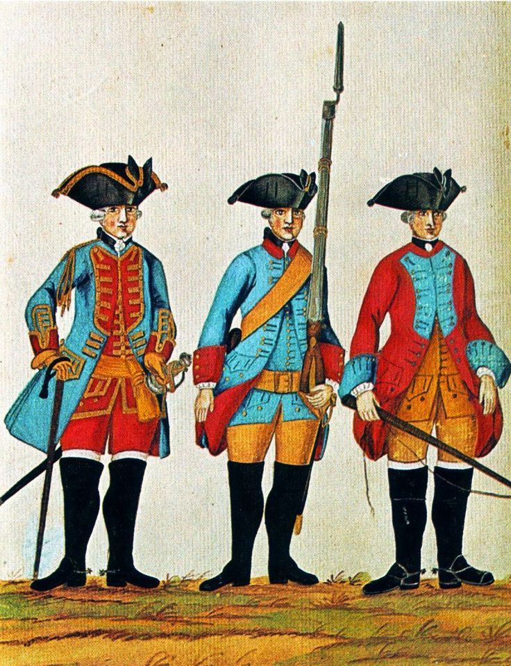 Hanover in the Seven Years War: Engineer Officer, Pontonier and Driver by Karsten