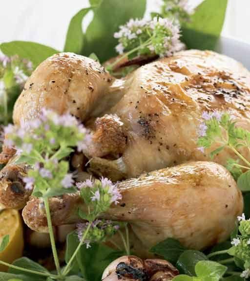 Pollo al limone - Chicken in Italian style seasoned with lemon