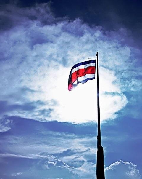 Costa Rican Flag