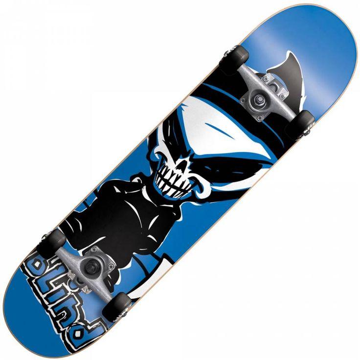 Blind Skateboards Blind Super Saver Reaper Blue MINI Complete ...