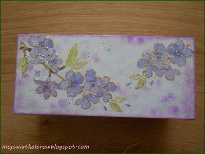 Mój świat kolorów...: I jeszcze jedno pudełeczko....