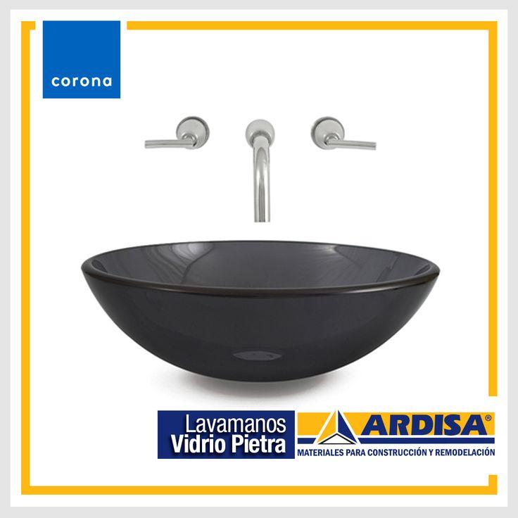 Crea espacios que reflejen 100% tu personalidad. Lava manos Vidrio Petra, su color gris inspirado en el tono natural de las rocas busca la máxima distinción y vanguardismo en el espacio de baño.
