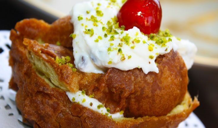 italian food a list of typical sicilian desserts and you to try sfince di san