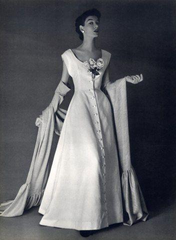 Balenciaga 1959 Evening Dress