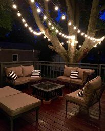 $17 (reg $50) Fulton Illuminations G40 25 Bulb Globe String Lights with 5 Extra Bulbs, 25-Feet - great reviews. Light your outdoor living space without needing a plug. Solar lights.