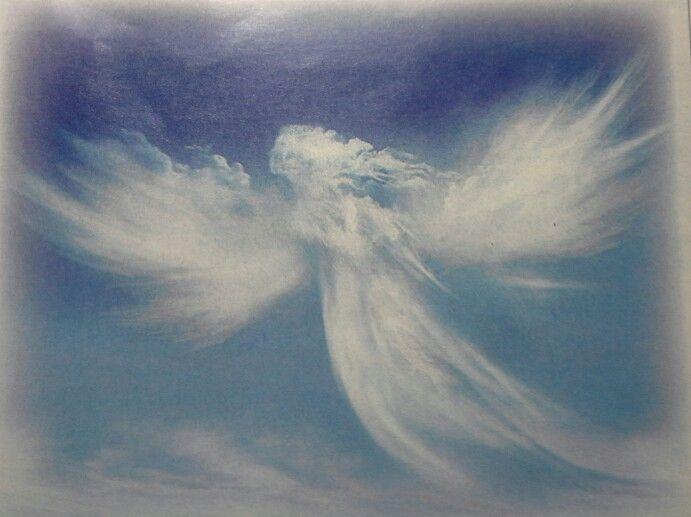 A cloud angel.