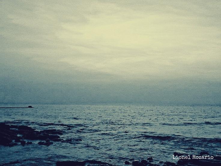 The horizon.