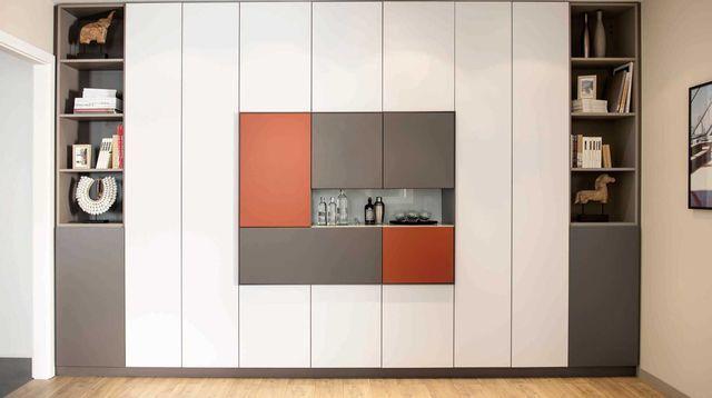 grand placard sur mesure coulissant sous pente id es pour la maison pinterest placard. Black Bedroom Furniture Sets. Home Design Ideas