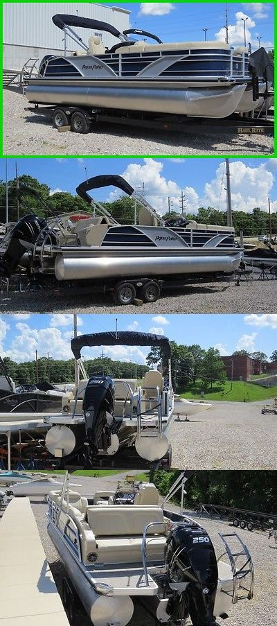 boats: Beautiful 2016 Aqua Patio 26Ft Tritoon Pontoon, Deck Boat, Party Barge, BUY IT NOW ONLY: $59980.0