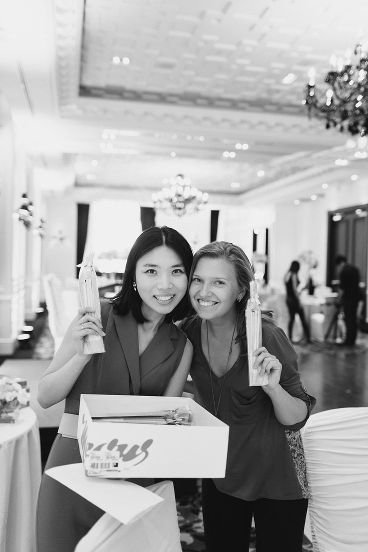 Whatever would we do without them!? Fusion's own Flora and Angelina who helped to make our couple's vision a reality at the Trump! #torontotrump #trumphotel #torontoweddingplanners #torontowedding #fusionevents #kickassweddingplanners