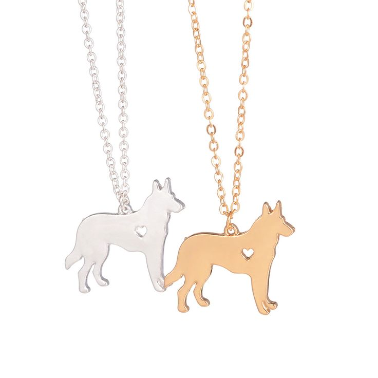 SALE German Shepherd Necklace Dog Jewelry  Breed Pet Jewelry Christmas Gifts Dog Memorial Gift New Puppy Doggy Rescue