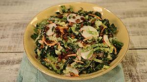 Pesto Chicken Cauliflower Bowl Recipe   The Chew - ABC.com