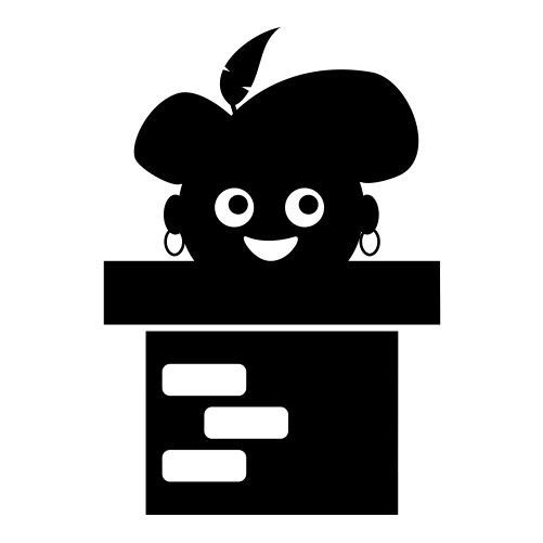 Zwarte piet uit schoorsteen raamsticker sticker