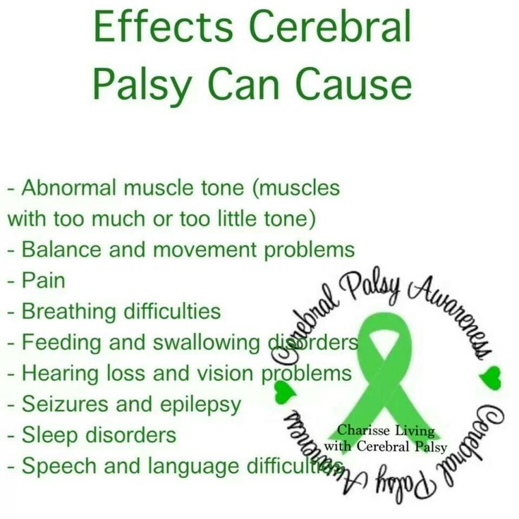 cerebral palsy and the effects on If a child with cerebral palsy has a cognitive impairment, they require interventions and supports learn more about cognition and learning.