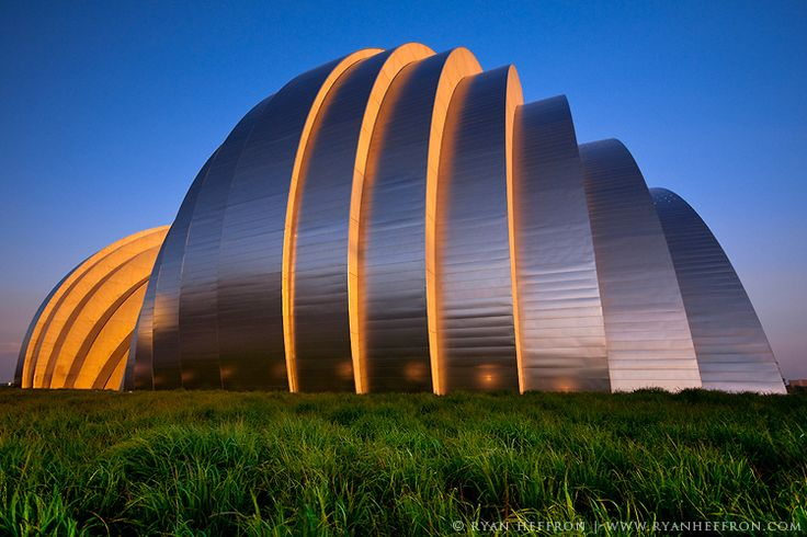 New Kauffman Center for the Performing Arts in Kansas City