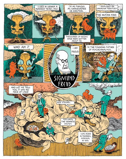 Freud's Life and Legacy, in a Comic   Brain Pickings http://goo.gl/JeoRP3