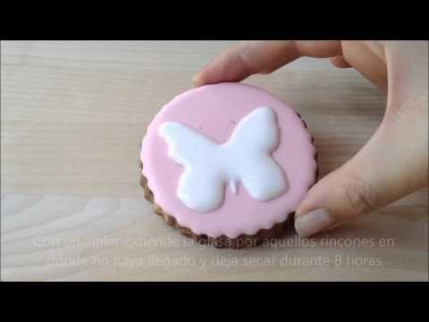 Cómo decorar galletas con imágenes con volumen {Tutorial}