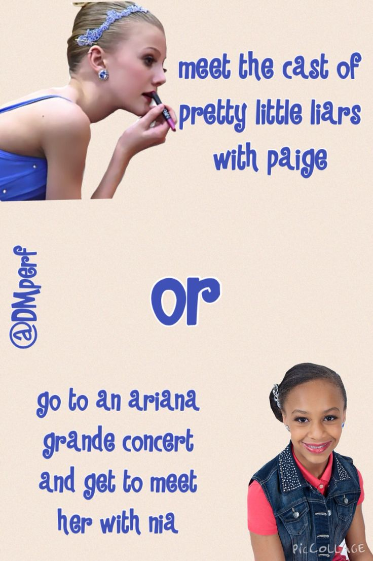 yay! new would you rather (dance moms edition) ccomment below:)