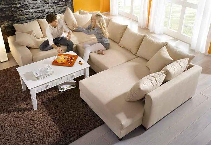 Home affaire Wohnlandschaft, auch mit Bettfunktion