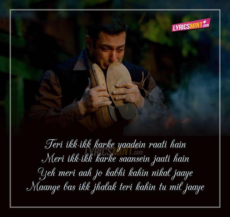 Tinka Tinka Dil Mera Lyrics from Tubelight
