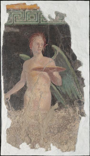 Boscoreale, près de Pompéi, dans le péristyle de la villa de Fannius Synistor, vers 50-40 av JC.