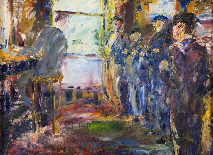 Sailors in an Office Jack Butler Yeats - thorsteinulf