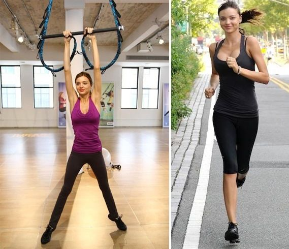 「miranda kerr workout」の画像検索結果