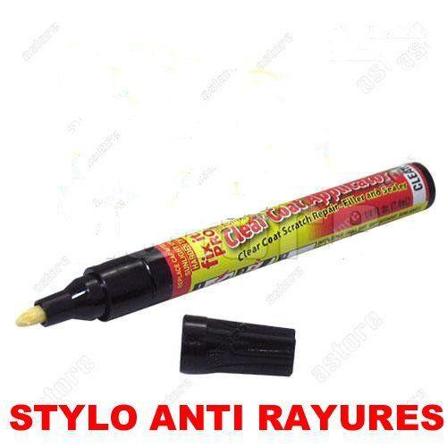 Stylo simonix fix it pro efface rayure carrosserie: Non toxique-Permanent-Inodore-Travaux sur toutes les couleurs 1)Secouer l'applicateur…