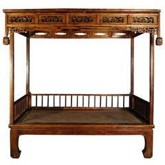 Early 19th Century Chinese Canopy Bed