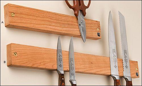 Cherry Magnetic Tool Holder Tools Knife Holder Knives