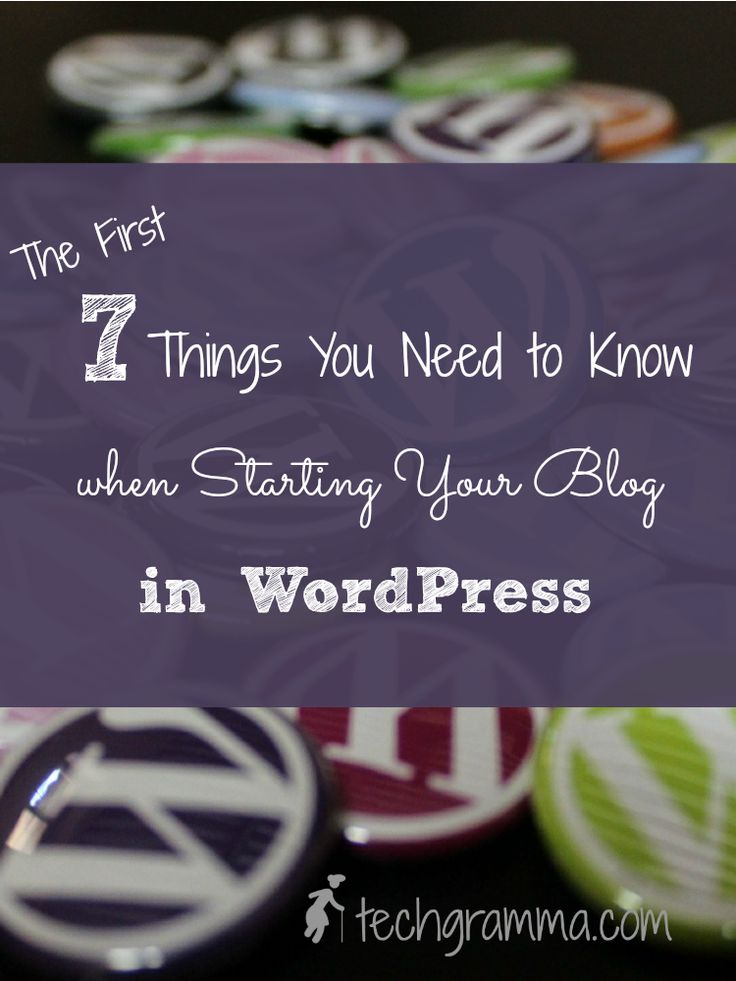 Starting your blog in WordPress is simple and straightforward when you follow these 7 steps. Do them first and you'll be set up with a strong foundation.