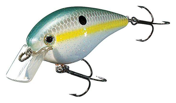 Strike king kvd square bill silent crankbait 2 3 4 5 for Bass pro shop fishing lures