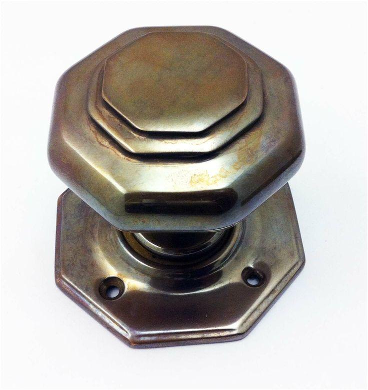 Aged brass passage set knob from Samuel Heath. Birmingham, UK. #architecture #design
