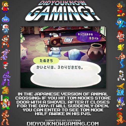 Animal Crossing. http://www.youtube.com/watch?v=VEIzbaa7saU