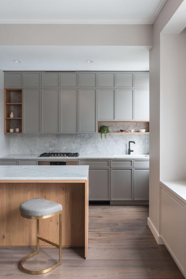 Neutral Modern Kitchen Kitchen Pinterest Kitchen Design