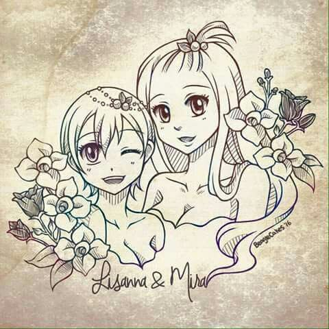 Mirajane and Lisanna